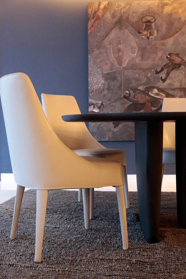 Dining room by MM estudio interior