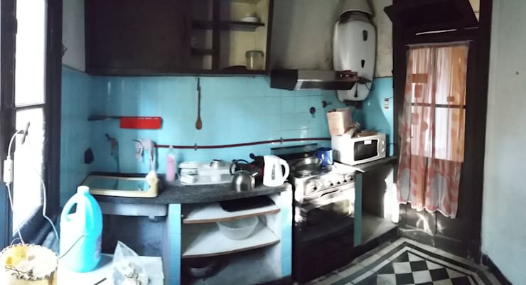 Keuken door AUREA Estudio de Diseño, Eclectisch