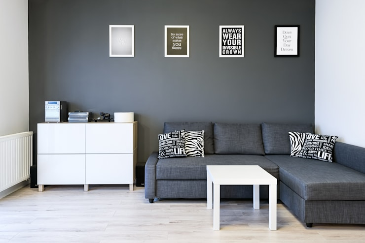 غرفة المعيشة تنفيذ Partner Design