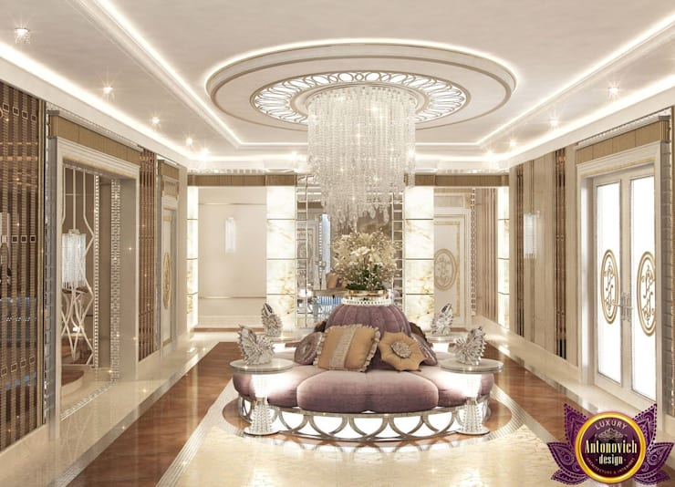 Koridor dan lorong by Luxury Antonovich Design