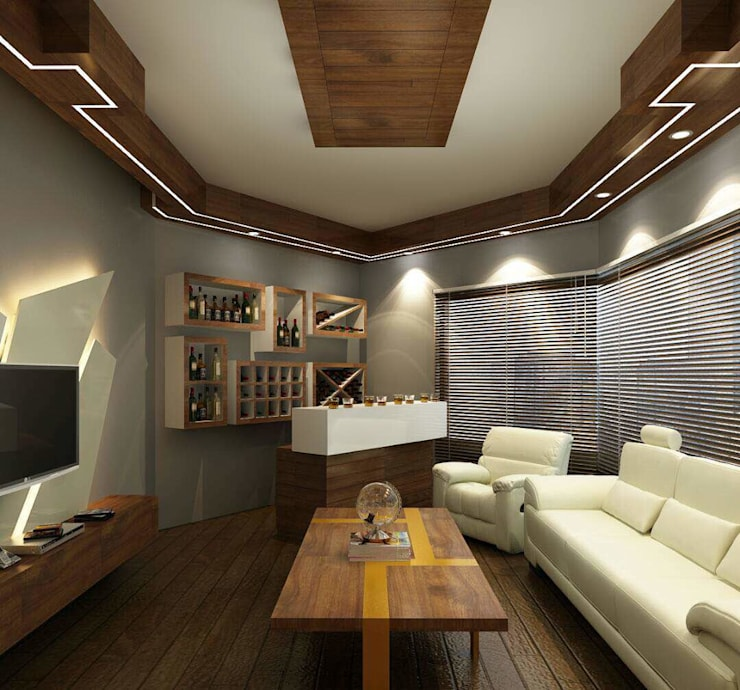 AV Room :  Media room by Avant Garde Design