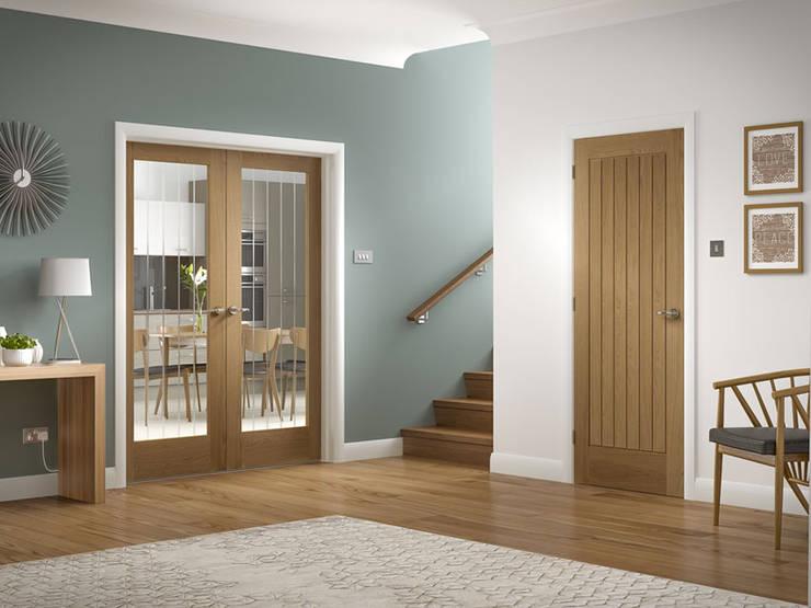 Suffolk Oak Internal Door:  Windows & doors  by Modern Doors Ltd