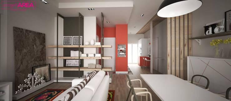 غرفة السفرة تنفيذ progettAREA interni & design
