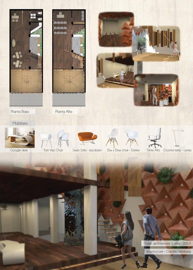 Diseño Paramétrico I IndusParquet :  de estilo  por Bōken Studio