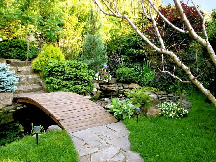 Jardines de estilo  por Укр Ландшафт Парк