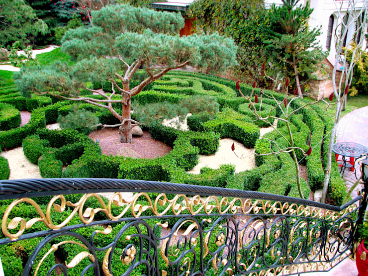 Разница ярусов: Сады в . Автор – Укр Ландшафт Парк