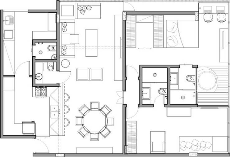 10 planimetrie di case a cui ispirarsi per progettare la for Software planimetria casa