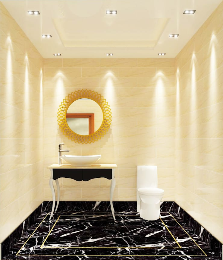 Bathroom 3D Design #7:  ห้องน้ำ by SIAMTAK CO., LTD.