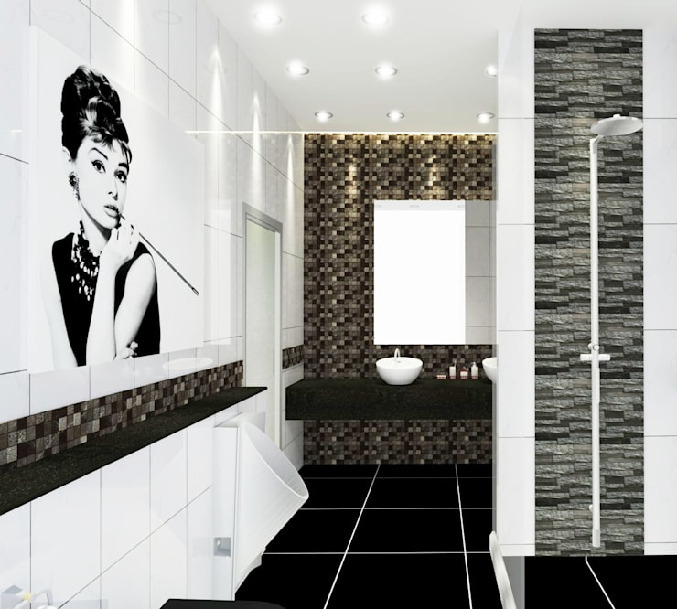 Bathroom 3D Design #8:  ห้องน้ำ by SIAMTAK CO., LTD.