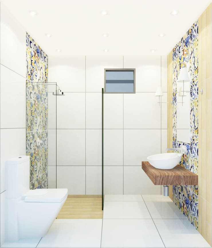 Bathroom 3D Design #10:  ห้องน้ำ by SIAMTAK CO., LTD.