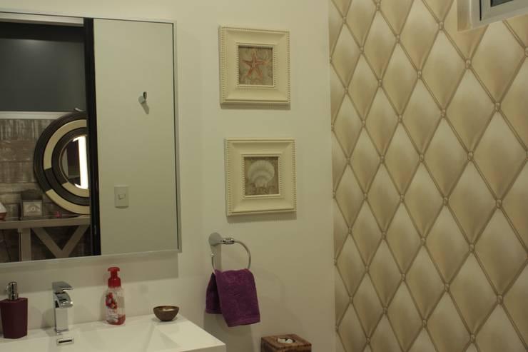 PENTHOUSE ALEJANDRA: Baños de estilo  por emARTquitectura