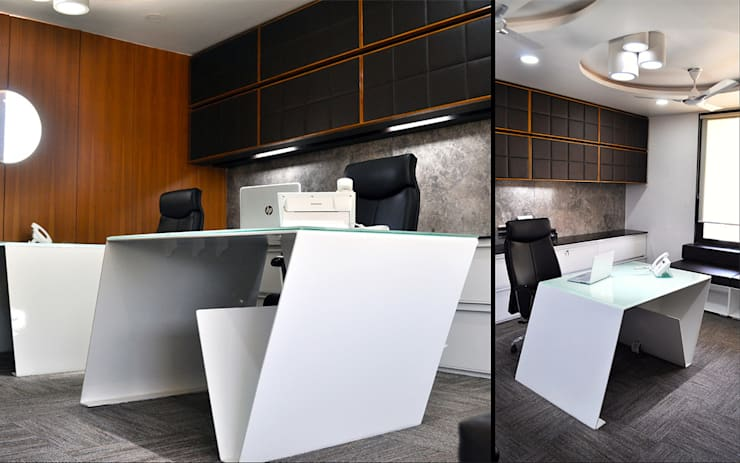 Corporate office for Hemeta Group:  Office buildings by Architects at Work,Modern
