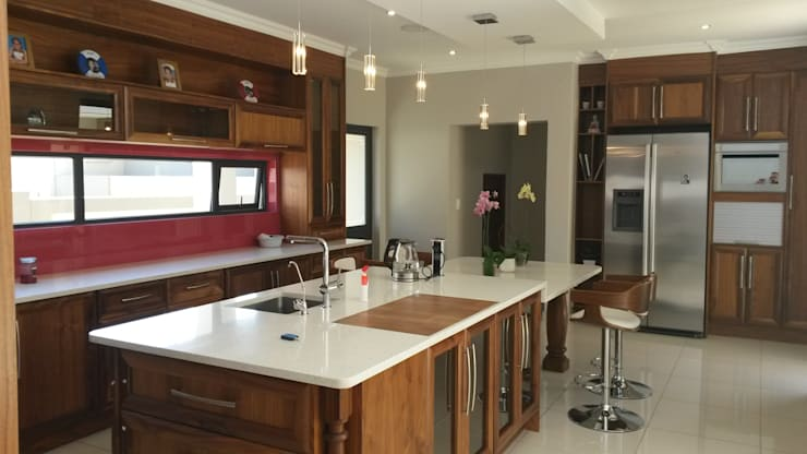 Kitchen by SCD Kitchens, Modern Wood Wood effect