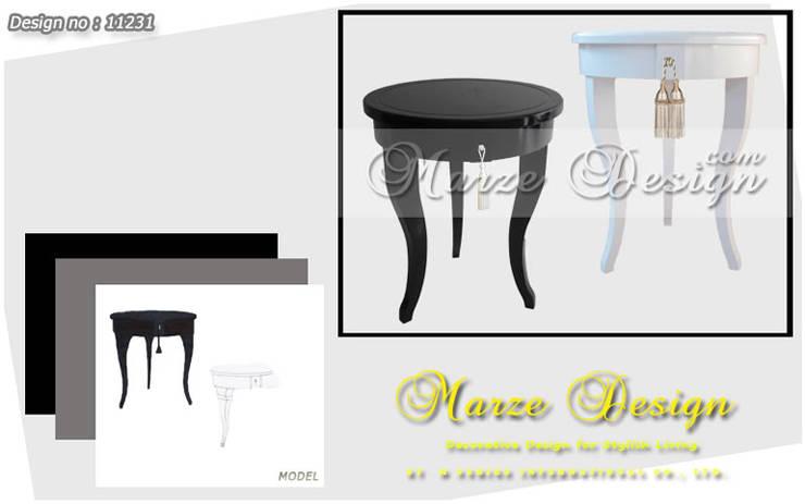 โต๊ะข้างโซฟา:   by Marze Design
