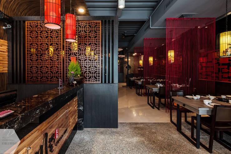 川蜀-麻辣燙:  餐廳 by 貝爾空間設計