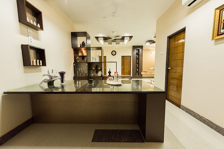 modern Dining room by Ankit Goenka