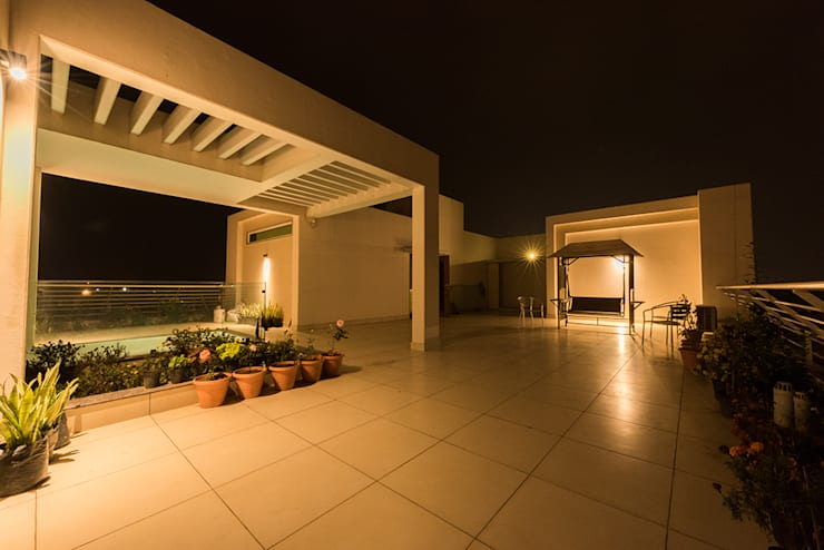 Sanchetna:  Terrace by Ankit Goenka