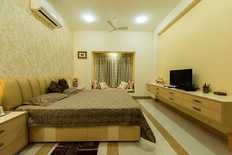 Sanchetna:  Bedroom by Ankit Goenka