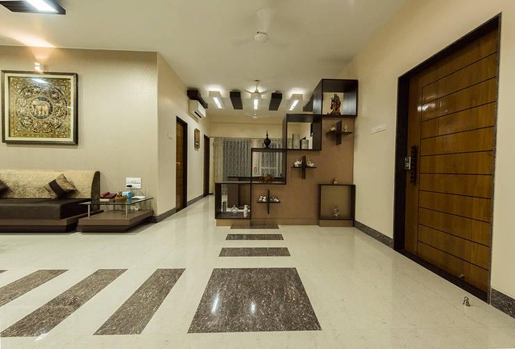 modern Living room by Ankit Goenka