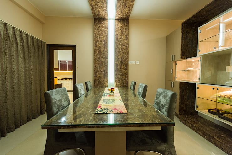 Dining room by Ankit Goenka