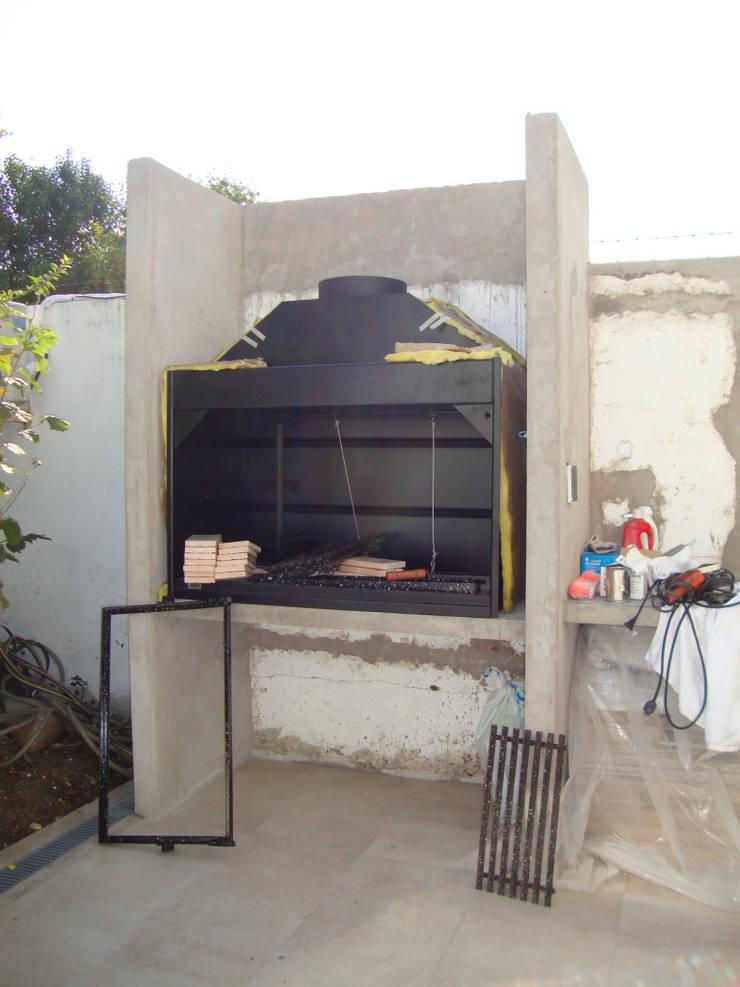 REMODELACION Y AMPLIACION DEPARTAMENTO EN VILLA LURO – CABA: Casas de estilo  por Arquitecta MORIELLO