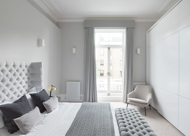 Habitaciones de estilo moderno por homify