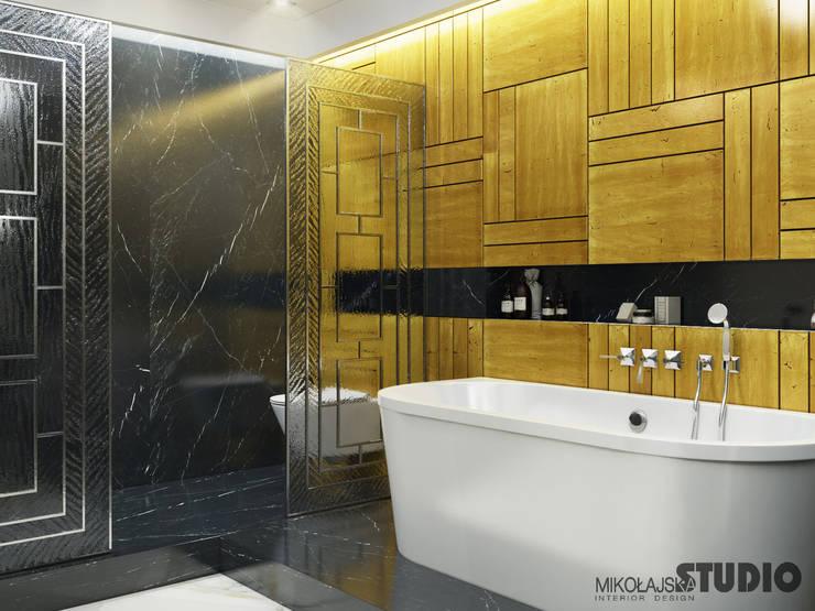 Ванные комнаты в . Автор – MIKOLAJSKAstudio, Эклектичный