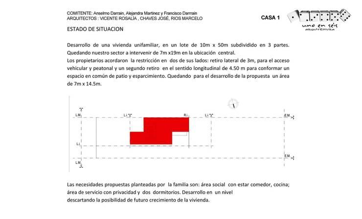 CASA UNO (2012):  de estilo  por unoenseis Estudio