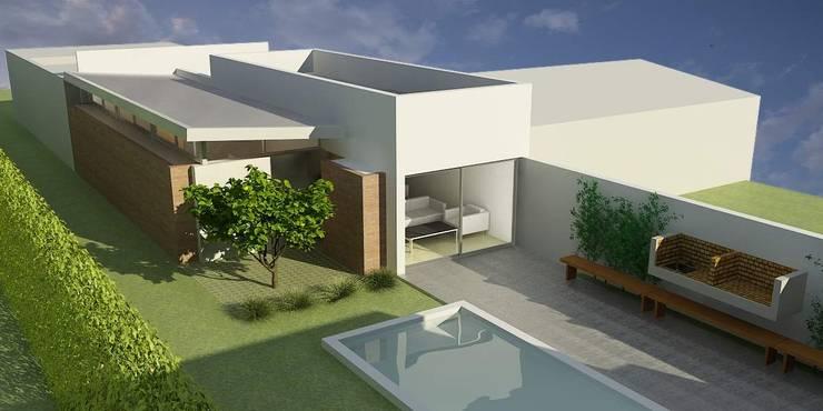 CASA UNO (2012): Casas de estilo  por unoenseis Estudio