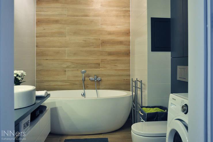 حمام تنفيذ INNers - architektura wnętrza