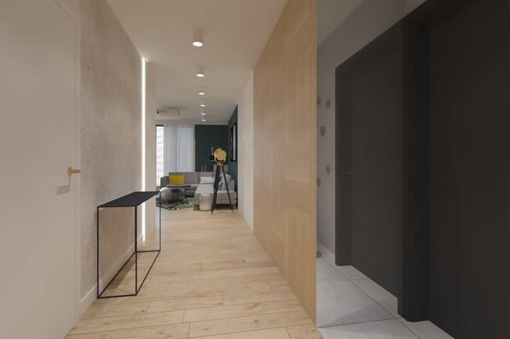 الممر والمدخل تنفيذ INNers - architektura wnętrza