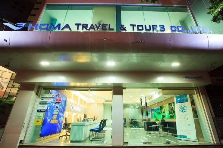 HOMA TOUR & TRAVEL:   by OA66 Architect