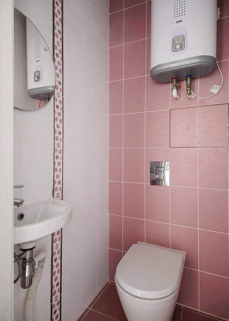 Санузел: Ванные комнаты в . Автор – Студия Анастасии Бархатовой
