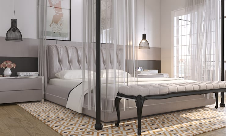 Bedroom by GN İÇ MİMARLIK OFİSİ