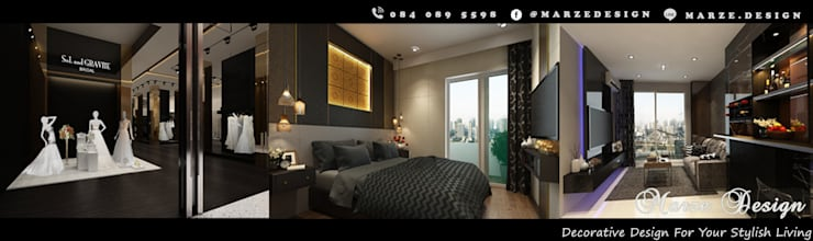 Interior Design Cover Page:   by Marze Design