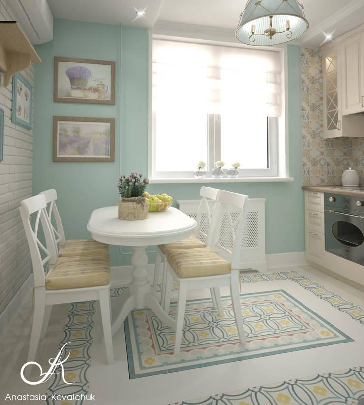 Apartment in Moscow:  Kitchen by Design studio by Anastasia Kovalchuk