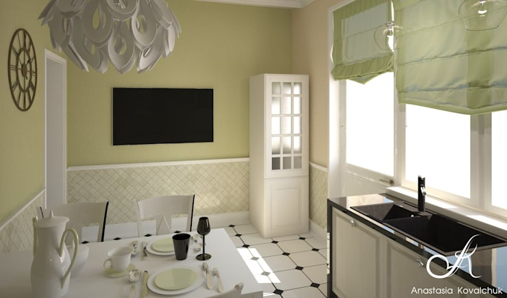 Villa:  Kitchen by Design studio by Anastasia Kovalchuk