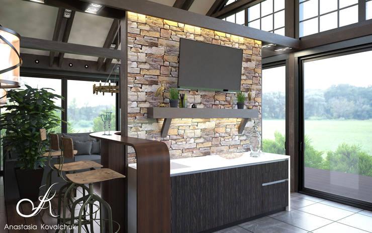 Pavilion:  Patios & Decks by Design studio by Anastasia Kovalchuk