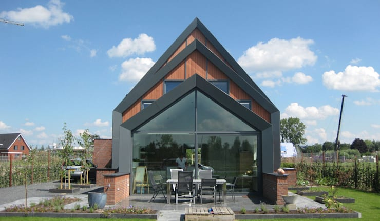 Дома в . Автор – Architectenbureau van den Hoeven b.v.