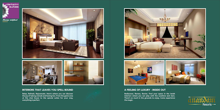 AnanDam Resorts :  Bedroom by Kansal Constructing Smart Cities