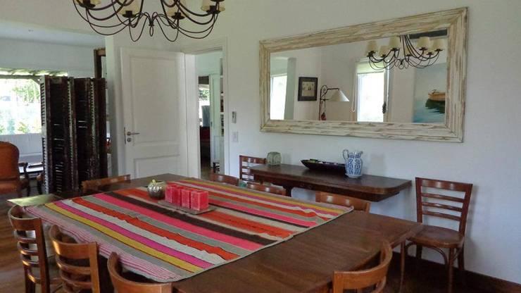 Casa en San Isidro: Comedores de estilo clásico por Rocha & Figueroa Bunge arquitectos