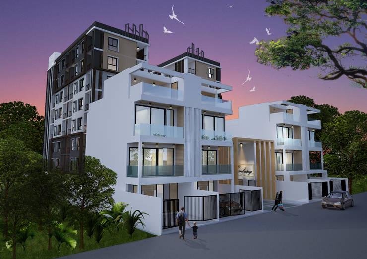 คอนโด แบรริ่ง 34:  โรงแรม by No.13 Design