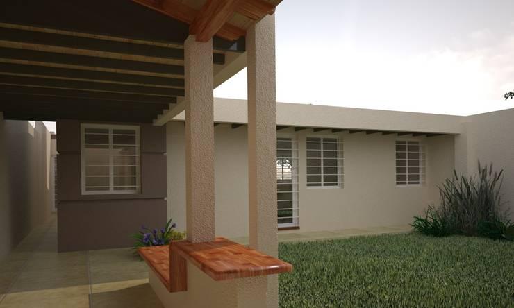 Jardines de estilo moderno por Estudio Barrios Astuto