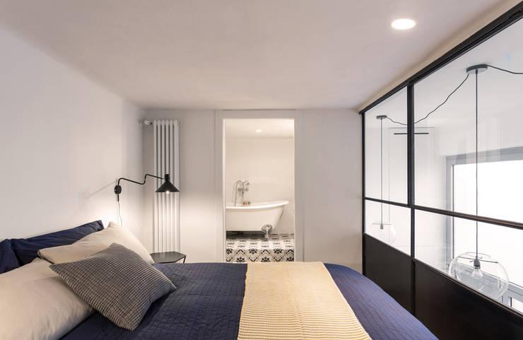 NOMADE ARCHITETTURA E INTERIOR DESIGN의  침실