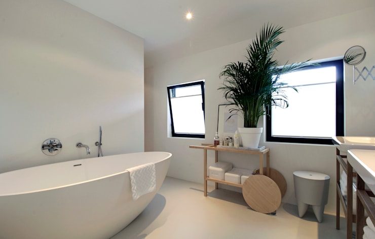 modern Bathroom by CHORA architecten