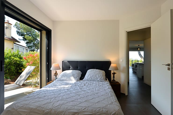 Atelier Jean GOUZY의  침실