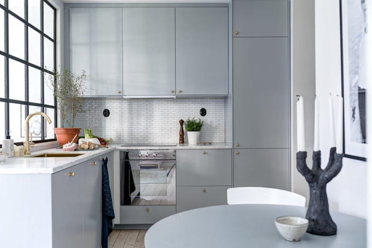 scandinavian Kitchen by Design for Love