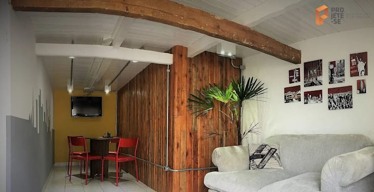 Edificios de oficinas de estilo  de Rafaella Vessoni - Projete-se Arquitetura e Interiores