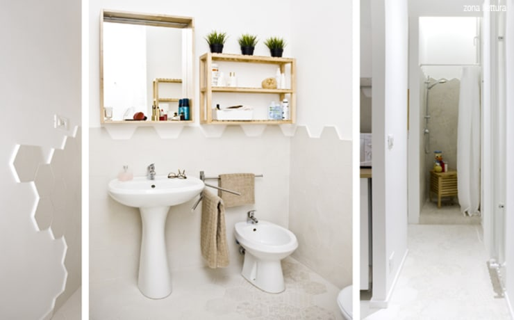 CASA PRIVATA 04 – ristrutturazione d'interni : Bagno in stile in stile Moderno di 81millimetri