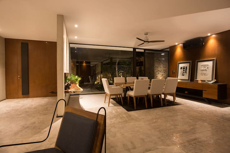 Dining room by FGO Arquitectura